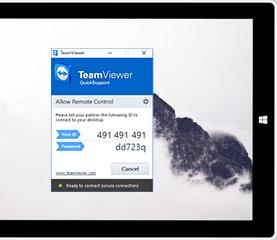 使用QuickSupport获得即时远程支持,无需任何安装。